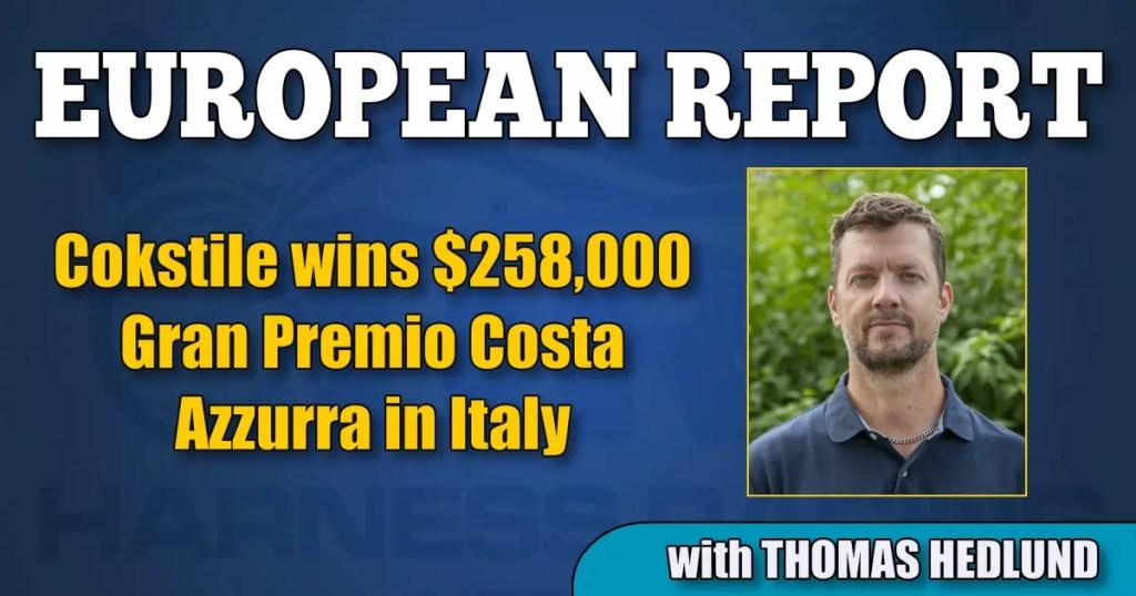 Cokstile wins $258,000 Gran Premio Costa Azzurra in Italy