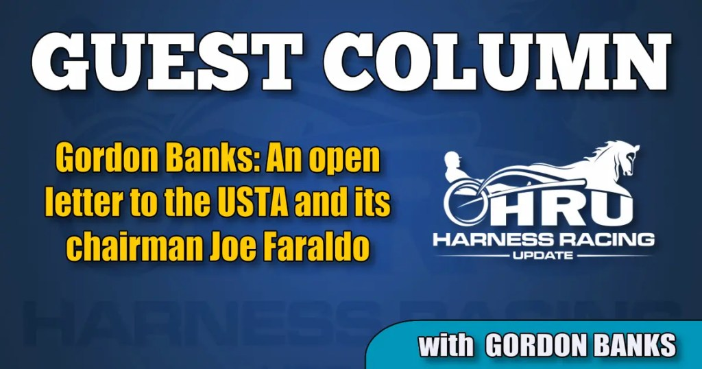 Gordon Banks: An open letter to the USTA and its chairman Joe Faraldo