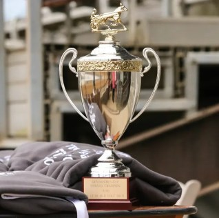 Dean Gillette | The Indiana Governor's Cup trophy.