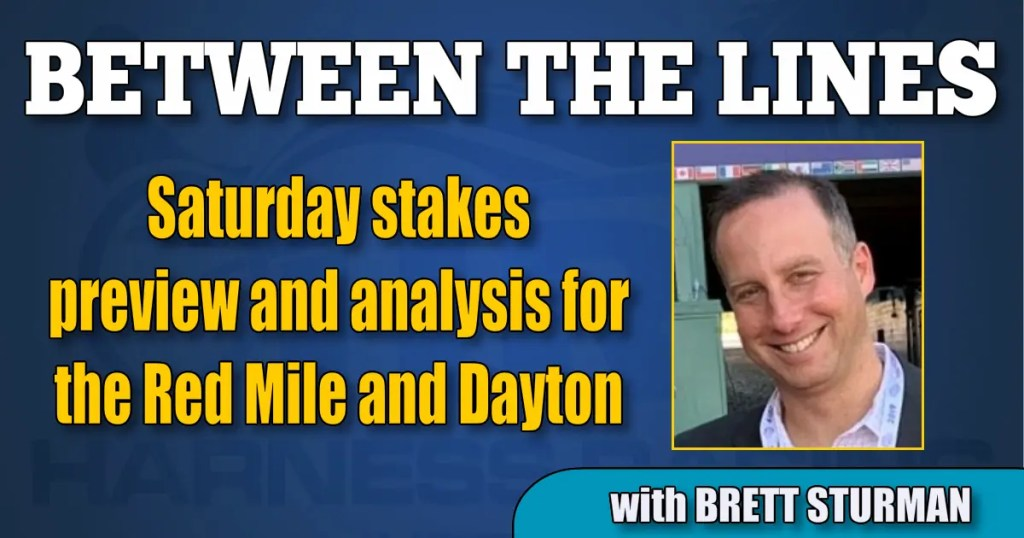 Saturday stakes preview and analysis for the Red Mile and Dayton