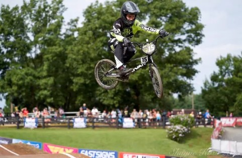 Courtesy Conley Newberry | Newberry is an accomplished BMX racer.