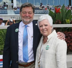 Claus Andersen | Brittany Farm's Art Zubrod and his wife Leah Cheverie.