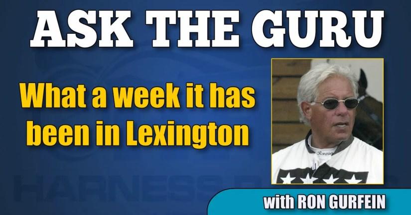 What a week it has been in Lexington