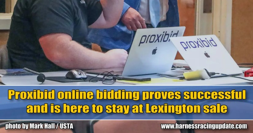 Proxibid online bidding proves successful and is here to stay at Lexington sale