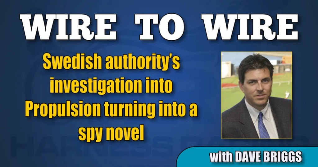 Swedish authority's investigation into Propulsion turning into a spy novel
