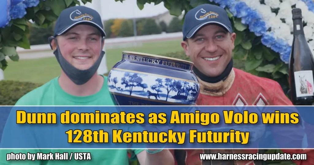 Dunn dominates as Amigo Volo wins 128th Kentucky Futurity
