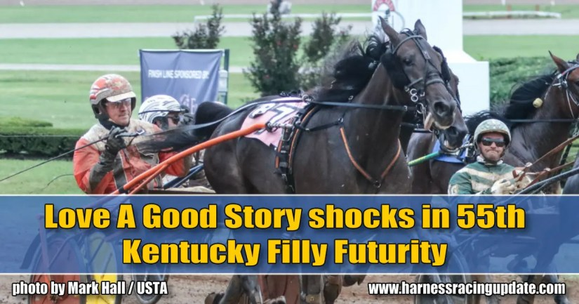 Love A Good Story shocks in 55th Kentucky Filly Futurity