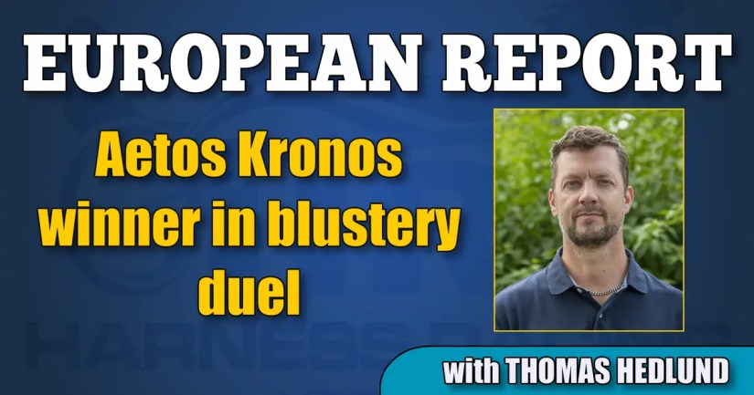 Aetos Kronos winner in blustery duel