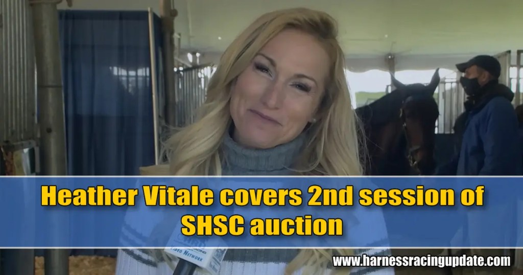 Heather Vitale covers 2nd session of SHSC auction