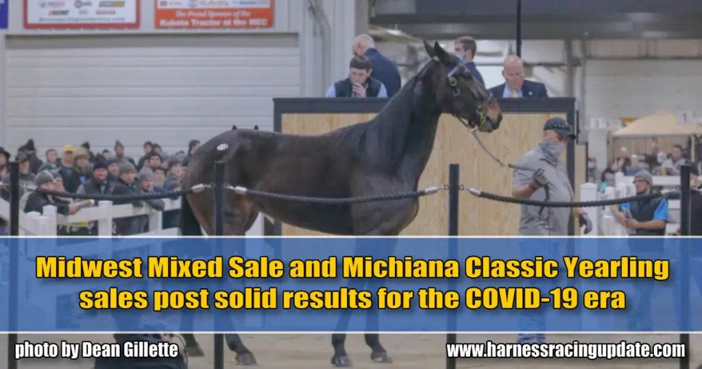 Midwest Mixed Sale and Michiana Classic Yearling sales post solid results for the COVID-19 era