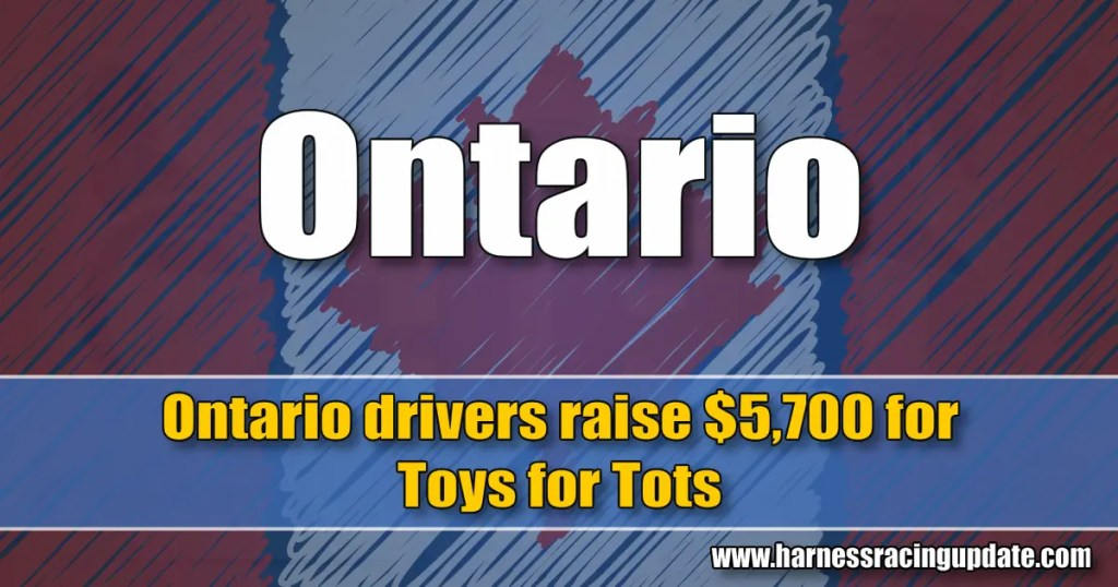 Ontario drivers raise $5,700 for Toys for Tots