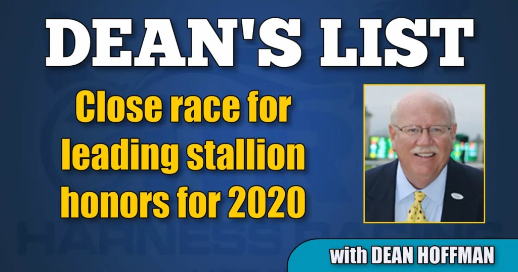 Close race for leading stallion honors for 2020