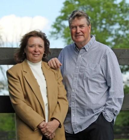 Vicki Wright | Linda Toscano and husband Brad McNinch.