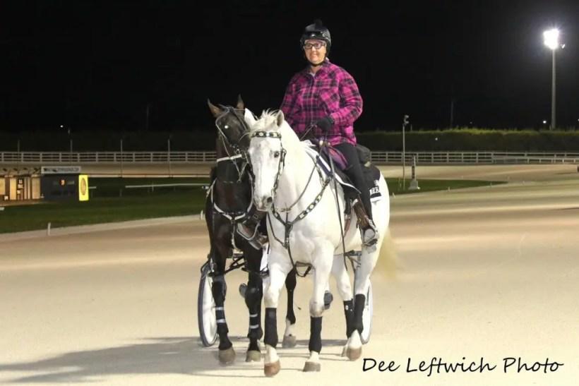 Dee Leftwich | Pompano Park outrider Camilla Olsson.