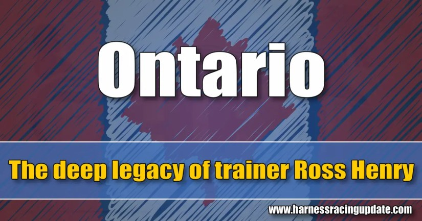 The deep legacy of trainer Ross Henry
