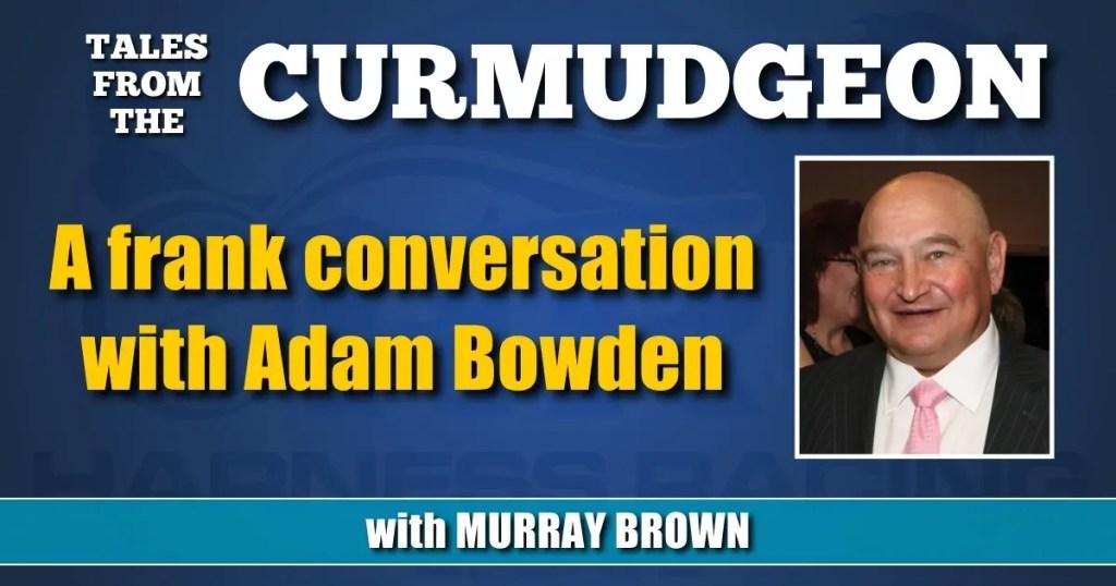 A frank conversation with Adam Bowden