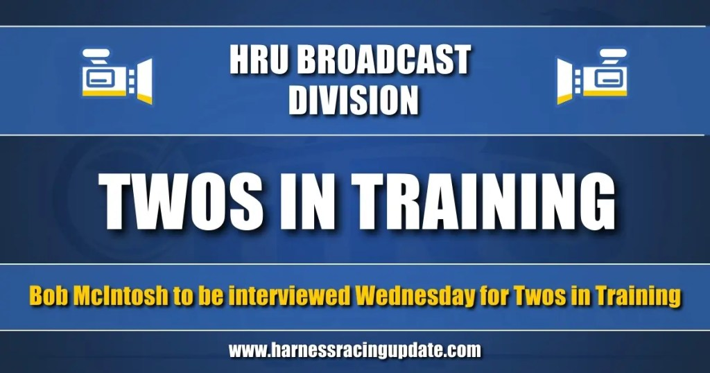 Bob McIntosh to be interviewed Wednesday for Twos in Training