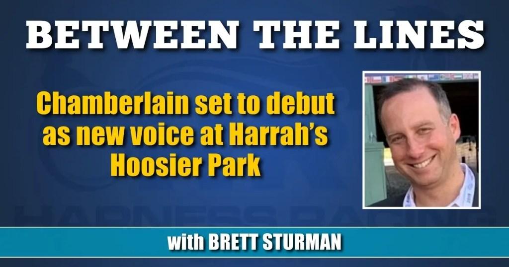 Chamberlain set to debut as new voice at Harrah's Hoosier Park