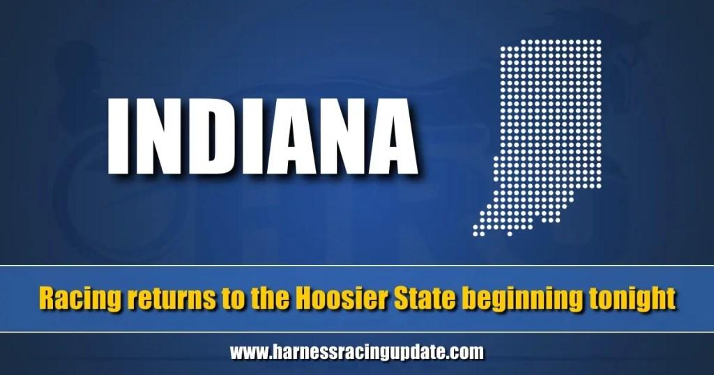 Racing returns to the Hoosier State beginning tonight