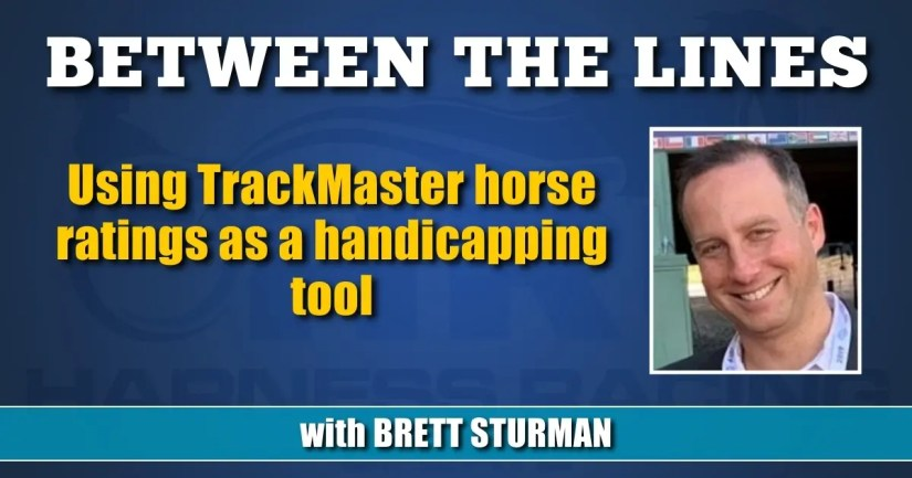 Using TrackMaster horse ratings as a handicapping tool