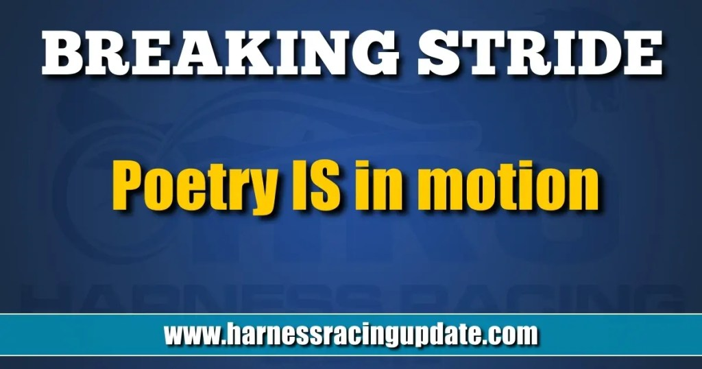 Poetry IS in motion