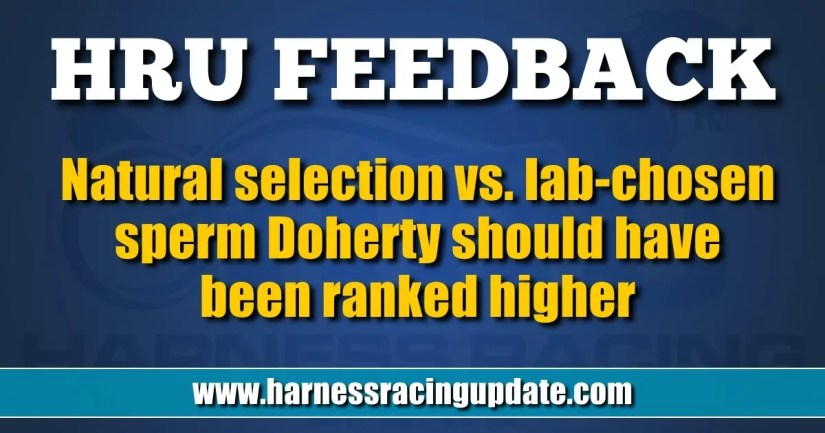Doherty should have been ranked higher