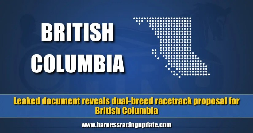 Leaked document reveals dual-breed racetrack proposal for British Columbia