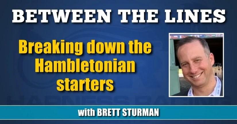 Breaking down the Hambletonian starters
