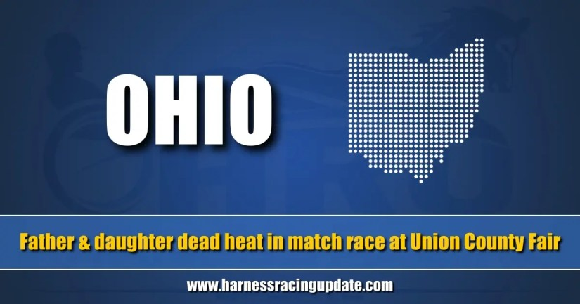 Father and daughter dead heat in match race at Union County Fair