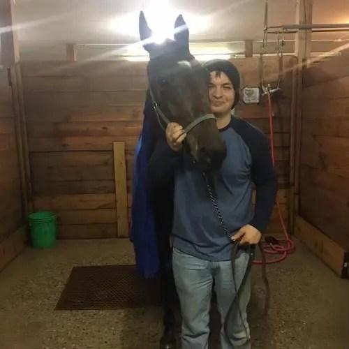 Courtesy Dakota Jackson Maine-based horseman Dakota Jackson.
