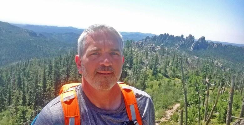 Brad Saum at Black Elk Peak