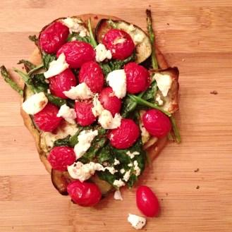 pizza végé