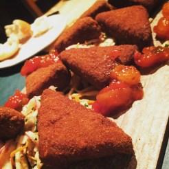 pâtés à la viande frits