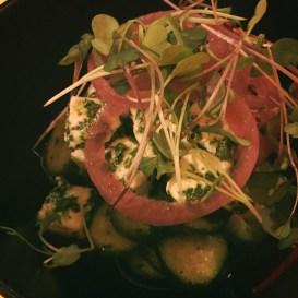 salade concombres versa