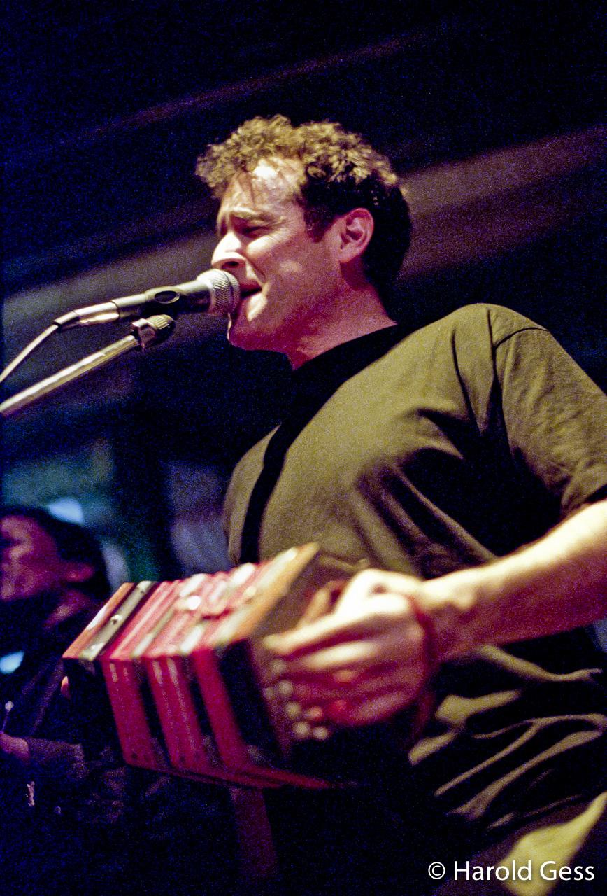 Johnny Clegg, Bassline Club. Melville Johannesburg, 1997