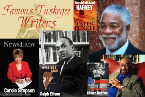 Harold Michael Harvey is a member of a long list of distinguish Tuskegee writer. Photo Credits: Cheryl Greene