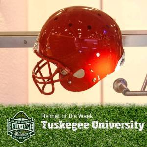 Tuskegee University Football Helment