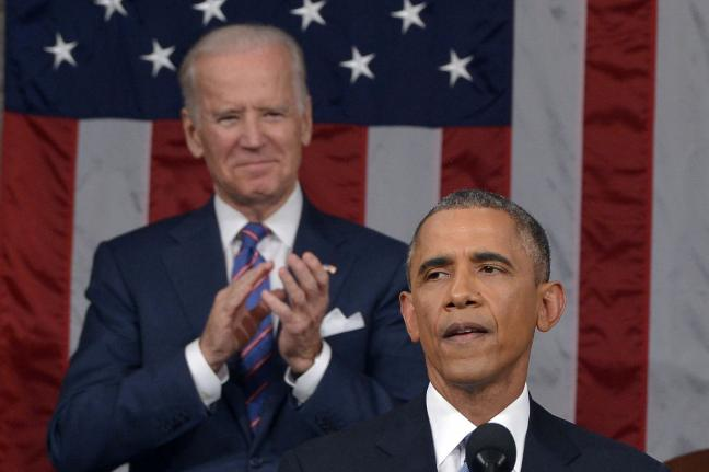 Joe Biden has stood behind President Obama the last six years in every crisis from reviving the economy, to immigration reform, gay marriage, negotiations over Iran's nuclear program, the war in Iraq  and health care reform.