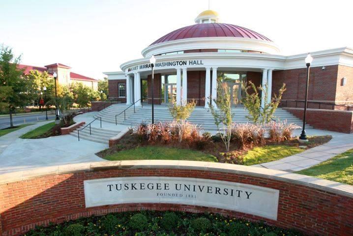 Margaret Murray Washington Hall on the campus of Tuskegee University. Photo Credits: Harold Michael Harvey