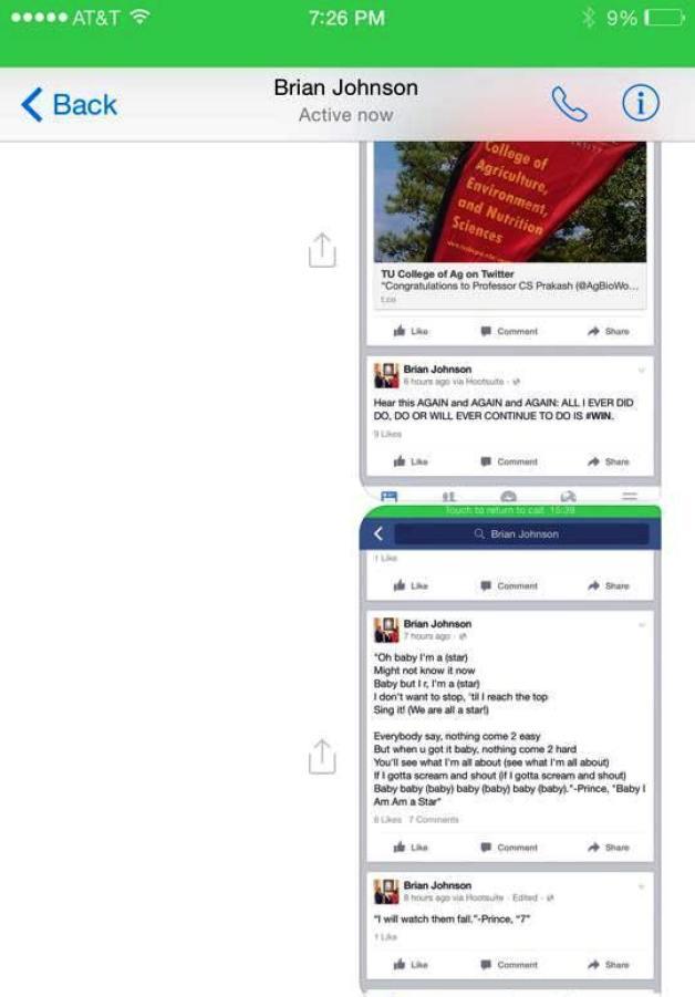 Brian Johnson's Social Media Rant