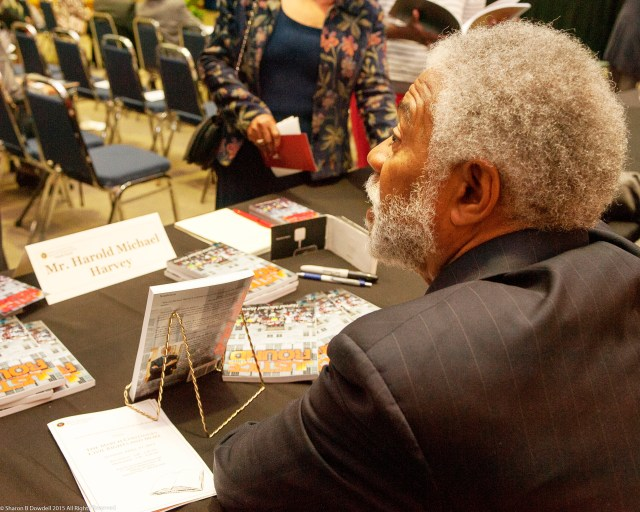 The public is invited to attend a book signing for Harold Michael Harvey's new book, JUSTICE IN THE ROUND, each Saturday in May beginning May 2 at the Sights and Sounds Black Cultural Expo Museum at North Dekalb Mall from 10am-2pm.