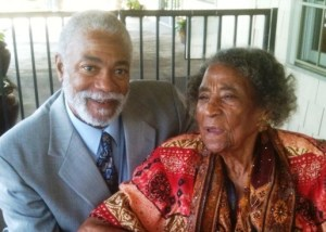 Harold Michael Harvey and Dr. Amelia Boynton Robinsion