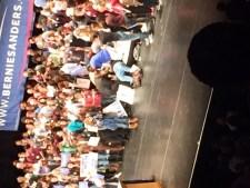Bernie Sanders Supporter faints e1448374728935