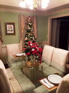 Christmas Table Setting 2015