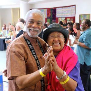 Harold Michael Harvey and Cynthia Marsh Harvey Dancing Cheek to Cheek