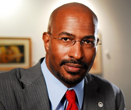 Van Jones, a regular commentator on CNN News believes RNC Chairman Renice Pribus has show better leadership in unitying his party than DNC Chairwoman Debbie Wasserman Shultz has shown in navigating the Nevada fight between the Nevada Democratic Party and Bernie Sanders supporters. Photo Credit: Post News Group