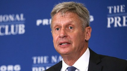 Gary Johnson, Libertarian Candidate for President recent rise in the polls may have sparks Ted Cruz to ask the RNC to vote their conscience in November Photo Credit: From The Hill/Moriah Tatner.