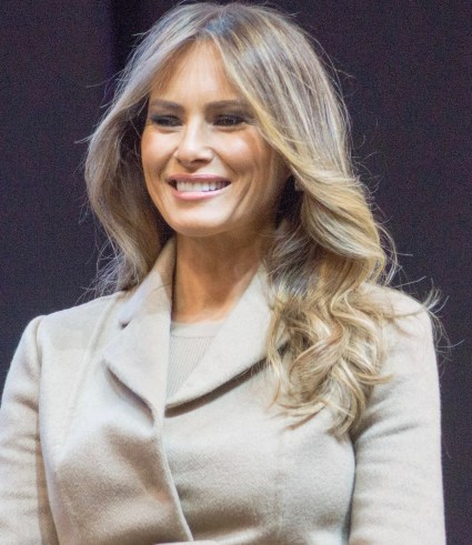 Melania knauss Trump had her moment upon the stage at the RNC Convention July 18, 2016. She is accused of lifting portions from First Lady Michelle Obama's 2008 speech to the DNC Convention. Trumps denies these claims. Photo Credits: Wiki Media
