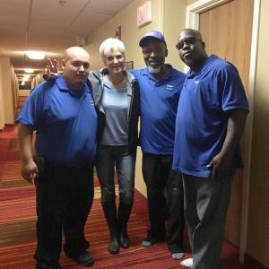 Jill Stein in Baton Rouge