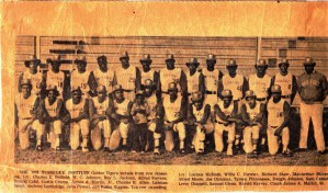 Harold Michael Harvey and the 1973 Tuskegee Institute Baseball Team